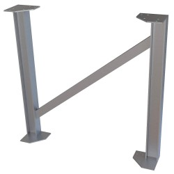 Tri Arc - UAP040 - Tower Support Leg, 40 in. H, 750 lb.