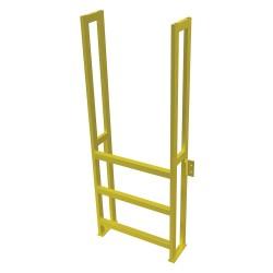 Tri Arc - UAP0390 - Fixed Ladder, 5 ft. 8-5/8 in. H, 750 lb.
