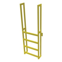 Tri Arc - UAP0490 - Fixed Ladder, 6 ft. 6-5/8 in. H, 750 lb.
