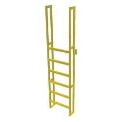 Tri Arc - UAP0790 - Fixed Ladder, 9 ft. 5/8 in. H, 750 lb.