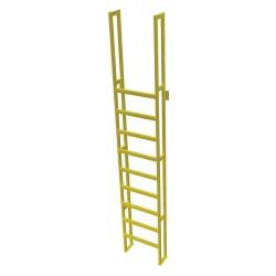 Tri Arc - UAP1190 - Fixed Ladder, 12 ft. 4-5/8 in. H, 750 lb.
