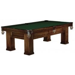 Brunswick - 28566802350 - Pool Table, Pocket, Chestnut, 98-1/2 In L