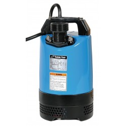 Tsurumi - LB-800 - 1 HP Submersible Dewatering Pump with 120VAC Voltage and Discharge NPT 2, 50 ft. Cord Length
