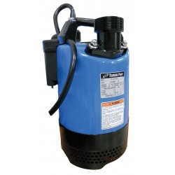 Tsurumi - LB-800A - 1 HP Automatic Submersible Dewatering Pump with 120VAC Voltage and Discharge NPT 2, 50 ft. Cord Le