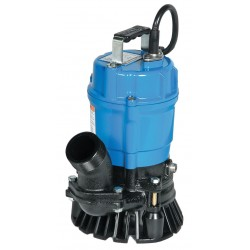 Tsurumi - HS2.4S-62 - 1/2 HP Construction Site/Residential Dewatering Pump with 120VAC Voltage and Discharge NPT 2, 20 f