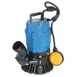 Tsurumi - HSZ2.4S-62 - 1/2 HP Construction Site/Residential Dewatering Pump with 120VAC Voltage and Discharge NPT 2, 20 f