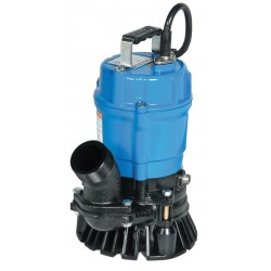 Tsurumi - HS3.75S-62 - 1 HP Construction Site/Residential Dewatering Pump with 120VAC Voltage and Discharge NPT 3, 32 ft.