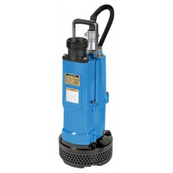 Tsurumi - N3-22 - 3 HP Construction Site/Residential Dewatering Pump with 240VAC Voltage and Discharge NPT 3, 32 ft.