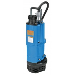 Tsurumi - NK2-22L - 3 HP Construction Site/Residential Dewatering Pump with 240VAC Voltage and Discharge NPT 3, 32 ft.