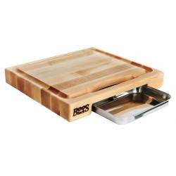 Boos Blocks - PM18180225-P - 18 x 18 Maple Cutting Board, Blonde