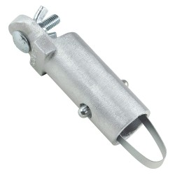 Kraft Tool - CC295 - Handle Adapter, Aluminum, 7 in. L