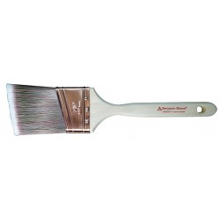 Benjamin Moore - 066225017 - 2 1/2 Angle Sash Polyester/Nylon Paint Brush, Firm, for All Paint Coatings