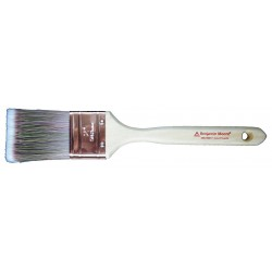 Benjamin Moore - 066725017 - 2 1/2 Flat Sash Polyester/Nylon Paint Brush, Firm, for All Paint Coatings