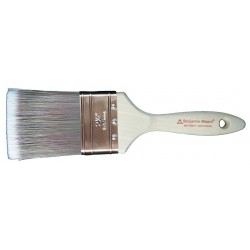 Benjamin Moore - 067725017 - 2-1/2 Chip Polyester/Nylon Paint Brush, Firm, for All Paint Coatings
