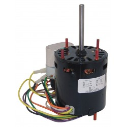 Fasco - D1127 - 1/12 HP, HVAC Motor, Permanent Split Capacitor, 1550 Nameplate RPM, 115/230 Voltage, Frame 3.3