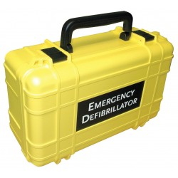 Defibtech - DAC-111 - AED Deluxe Hard Yellow Carry Case; For Use With Mfr. No. DCF-A100-RX-EN, DCF-A110-RX-EN