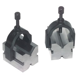 Brown & Sharpe Precision - 599-750-1 - 44534 Pair V-blocks & Clamps