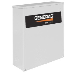 Generac - RTSC200A3 - Generac RTSC200A3 Automatic Smart Transfer Switch, 200A 120/240VAC, 1PH, NEMA 3R
