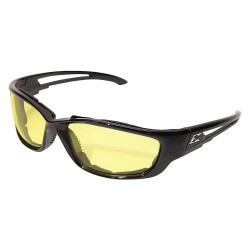 Wolf Peak - GSK-XL112VS - Kazbek XL Vapor Shield Anti-Fog, Scratch-Resistant Safety Glasses, Yellow Lens Color