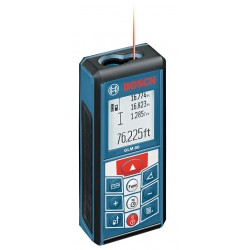 Bosch - GLM 80 - Laser Distance Meter 265 ft. Max. Distance, 1/16 Accuracy