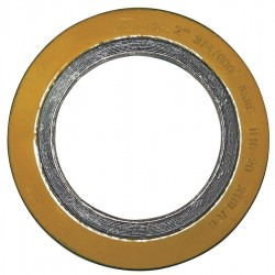 FlexItAllIC - CG - 316SS and Flexible Graphite Spiral Wound Metal Gasket, 1-7/8 Outside Dia., Green Band, Gray Stripe