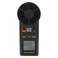 Dwyer Instruments - 8904 - Anemometer, Rotating Vane, Black