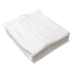 R&R Textile Mills - 51710 - Bar Mop Towel, Ribbed, Cotton, 19inL, PK12