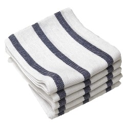 R&R Textile Mills - 32002 - Herringbone Towel, Striped , Cotton, PK12
