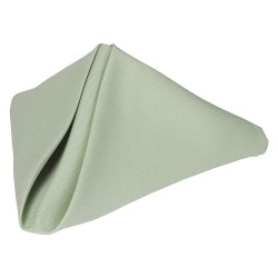 Phoenix Textile Industries - PN1818-SEAFOAMGR - 18 x 18 Square Polyester Napkin, Sea Foam Green; PK12