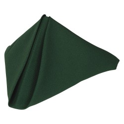 Phoenix Textile Industries - PN2020-FO - 20 x 20 Square Polyester Napkin, Forest Green; PK12