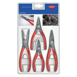 Knipex Tools - 00 20 03 SB - Internal/External Retaining Ring Plier Set, Number of Pieces: 4