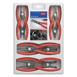 Knipex Tools - 00 20 04 SB - Internal/External Retaining Ring Plier Set, Number of Pieces: 8