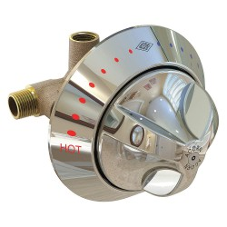 BestCare - WHSV16 - Brass, Chrome Wall Ligature Resistant Shower Valve