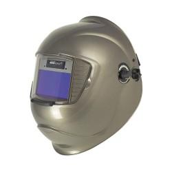 Sellstrom - S41310-612 - Galaxy Series, Auto-Darkening Welding Helmet, 9 to 13 Lens Shade, 4.25 x 2.00 Viewing AreaSilver