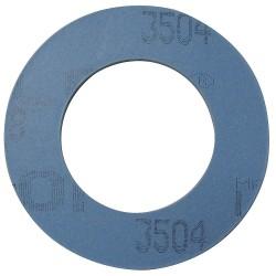 Garlock / EnPro Industries - 3504RG-0150-062-0400 - PTFE with Aluminosilicate Microspheres Flange Gasket, 6-7/8 Outside Dia., Blue