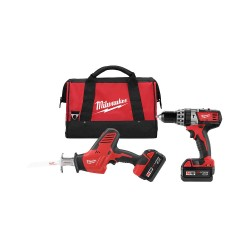 Milwaukee Electric Tool - 2695-22 - M18 Cordless Combination Kit, 18.0 Voltage, Number of Tools 2