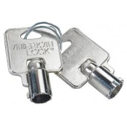 American Lock - AKTBOX - Key Blank, Steel, Circular, 7 Pins, PK25