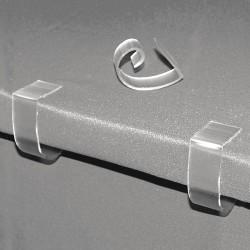 Fastenation - SMCTCC - 1 Rigid PVC Table Cloth Clip with 2 Thickness; PK100