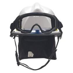 Bullard - LTXWHTLGIZ4 - White Fire Helmet, Shell Material: Ultem, Standard Sure-Lock Ratchet Headband Suspension, Fits Ha