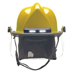Bullard - LTXYLTLGIZ4 - Yellow Fire Helmet, Shell Material: Ultem, Standard Sure-Lock Ratchet Headband Suspension, Fits H