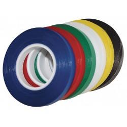 Magna Visual - CT4B - Magna Visual Self-stick Vinyl Chart Tape - 0.13 Width x 28.50 ft Length - Vinyl - Residue-free - 1 / Roll - Black