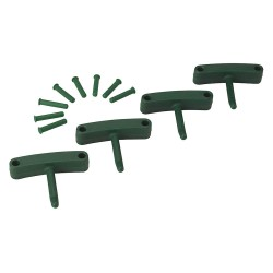 Vikan - 10162 - Replacement Hooks for Wall Bracket, Green