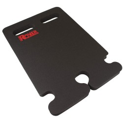 Wearwell / Tennessee Mat - 515.1X14X21BK-CS5 - Kneeling Pad, 14 x 21 x 1In, Black, NBR, PK5