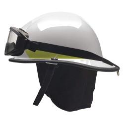 Bullard - PXSWHGIZ3 - White Fire Helmet, Shell Material: Ultem, Standard Sure-Lock Ratchet Headband Suspension, Fits Ha