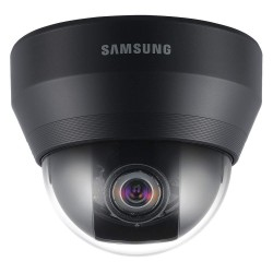 Samsung - SCD-5083B - Analog Dome Camera, 1/3 1.3MP CMOS, 1000TVL, Vari-focal Lens (2.8-10.5mm), True D/N, 120dB WDR, Analytics, 24VAC/12VDC, Black Housing Version of SCD-5083