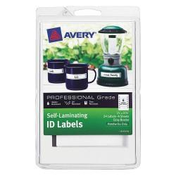 Avery Dennison - 00747 - Laser/Inkjet Label, Gray Border, PK4