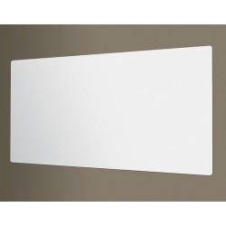 Best-Rite / MooreCo - 208JD - Gloss-Finish Porcelain Dry Erase Board, Wall Mounted, 48H x 48W, White
