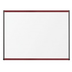 Best-Rite / MooreCo - 202OC-03 - Gloss-Finish Porcelain Dry Erase Board, Wall Mounted, 36H x 48W, White