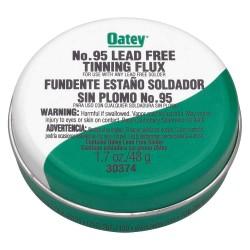 Oatey - 30374 - Lead Free Flux, Paste, Lead Free, 1.7 oz.