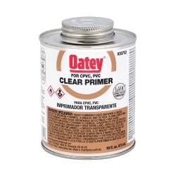 Oatey - 30752 - PVC Primer, Clear, 16 oz., for PVC Pipe And Fittings